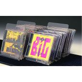 Clear Acrylic Index Card CD & DVD Dividers by Gressco, 1688