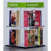 3branch magstak™ Standard Counter Display w/4-Sided Sign, GR03XCD4