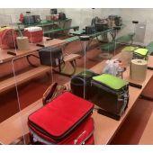 Tabletop Social Distance Barriers by Kwik Case, SDB-TT*