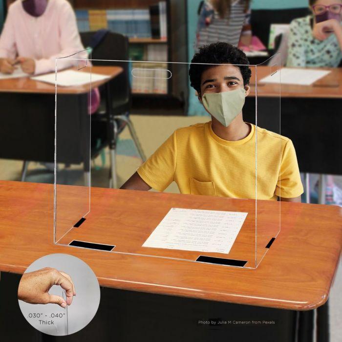 Desk Barriers by Kwik Case, SB-DESK*