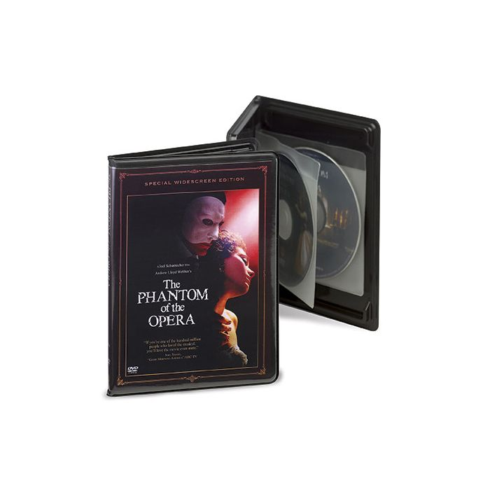DVD Quattro Case Insert for Kwik Case